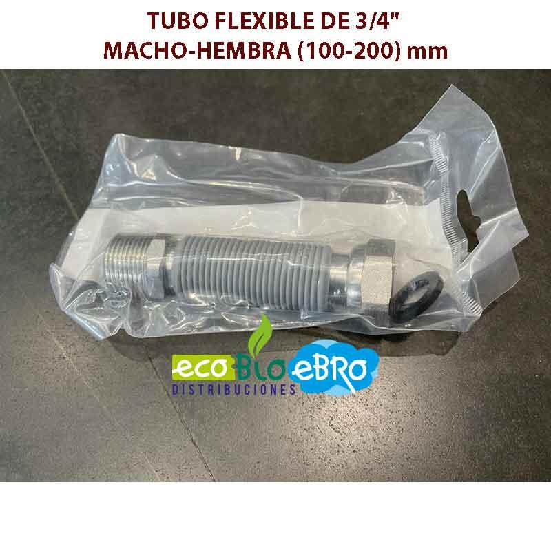 TUBO-FLEXIBLE-DE-34'-MACHO-HEMBRA-(100-200)-mm ecobioebro