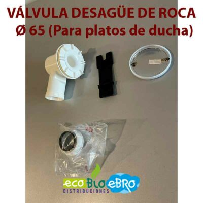 VÁLVULA-DESAGÜE-DE-ROCA--Ø-65-(Para-platos-de-ducha) ecobioebro