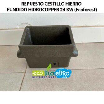 VISTA-REPUESTO-CESTILLO-HIERRO-FUNDIDO-HIDROCOPPER-24-KW-(Ecoforest)-ecobioebro