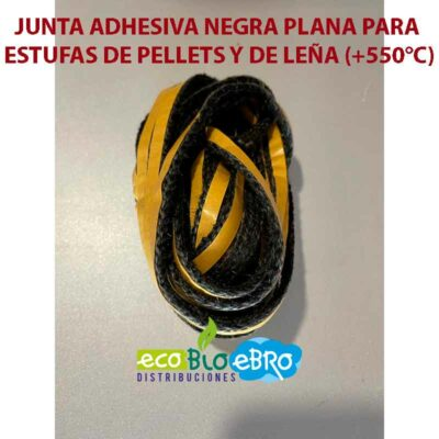 AMBIENTE-JUNTA-ADHESIVA-NEGRA-PLANA-PARA-ESTUFAS-DE-PELLETS-Y-DE-LEÑA-(+550°C)-ecobioebro