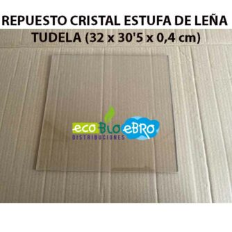 REPUESTO-CRISTAL-ESTUFA-DE-LEÑA-TUDELA-(32-x-30'5-x-0,4-cm)-ecobioebro