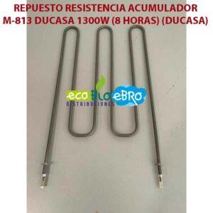REPUESTO RESISTENCIA ACUMULADOR M-813 DUCASA 1300W (8 HORAS) (DUCASA)