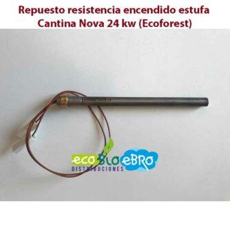 Repuesto-resistencia-encendido-estufa-Cantina-Nova-24-kw-(Ecoforest)-ecobioebro