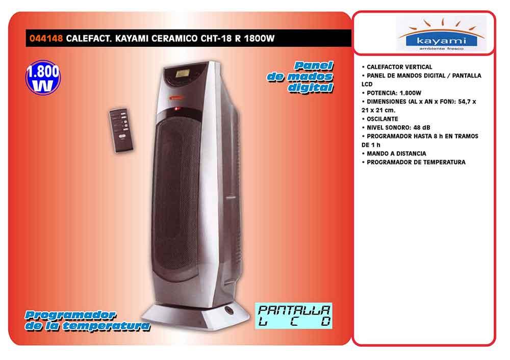 ficha-tecnica-calefactor-kayami-CHT18R ecobioebro