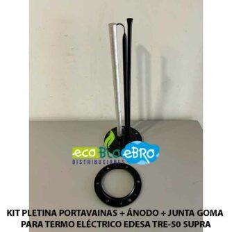 KIT-PLETINA-PORTAVAINAS-+-ÁNODO-+-JUNTA-GOMA-PARA-TERMO-ELÉCTRICO-EDESA-TRE-50-SUPRA ecobioebro