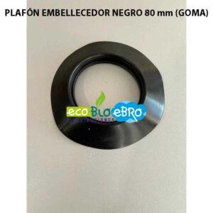 PLAFÓN-EMBELLECEDOR-NEGRO-80-mm-(GOMA)-ecobioebro