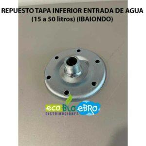 REPUESTO TAPA INFERIOR ENTRADA DE AGUA (15 a 50 litros) (IBAIONDO)