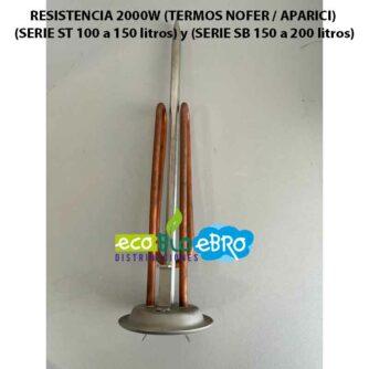 RESISTENCIA-2000W-(TERMOS-NOFER--APARICI)-(SERIE-ST-100-a-150-litros)-y-(SERIE-SB-150-a-200-litros) ecobioebro