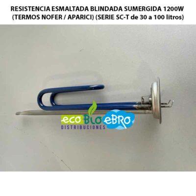 RESISTENCIA-ESMALTADA-BLINDADA-SUMERGIDA-1200W-(TERMOS-NOFER--APARICI)-(SERIE-SC-T-de-30-a-100-litros)-ecobioebro