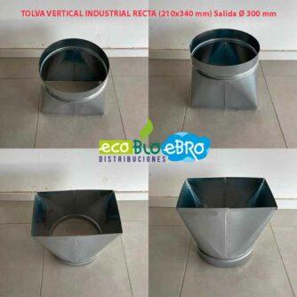 TOLVA-VERTICAL-INDUSTRIAL-RECTA-(210x340-mm)-Salida-Ø-300-mm-ecobioebro