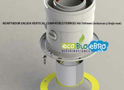 ADAPTADOR-SALIDA-VERTICAL-COMPATIBLE-FERROLI-60100mm-(estancas-y-bajo-nox)-ecobioebro