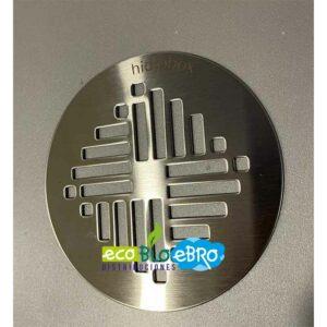 AMBIENTE REJILLA-REDONDA-INOX-STAR-PARA-PLATOS-DE-DUCHA-Ø-130-mm-(HIDROBOX) ecobioebro