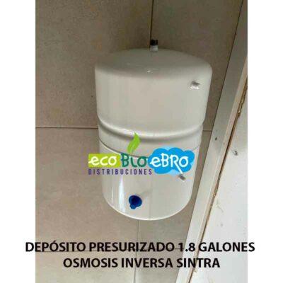DEPÓSITO-PRESURIZADO-1.8 GALONES OSMOSIS INVERSA SINTRA ecobioebro