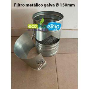 Filtro-metálico-galva-Ø-150mm-ecobioebro