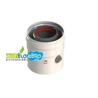 MANGUITO-COAXIAL-CON-TOMA-DE-MUESTRAS-MACHO--HEMBRA-80110-(Aluminio-lacado) ecobioebro