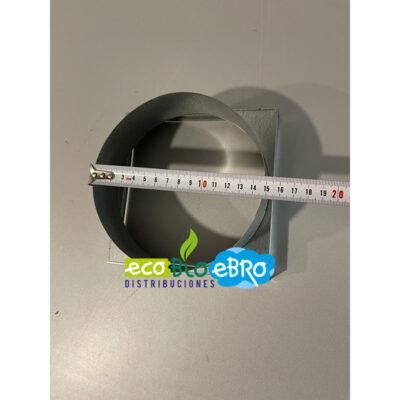 Medidas-Entronque-rejilla-para-tubo-150-mm-(170-x-170-mm)-ecobioebro