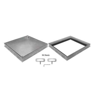 Tapa-con-Marco-Galvanizada-Hermética-Rellenable-B-125-(-H50-) ecobioebro