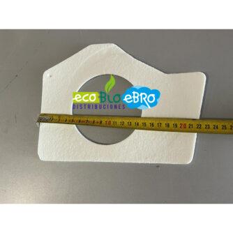 dimensiones-medida-JUNTA-EXTRACTOR-PENTAGONAL-ESTUFA-BOLONIA-(2011)-10-KW-(ECOFOREST)-ecobioebro
