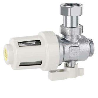 545900-Filtro-desfangador-magnético-bajo-caldera-XS545900-(CALEFFI)-ecobioebro