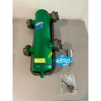 AMBIENTE-Separador-hidráulico-2'-Con-aislamiento-548009-(CALEFFI)-ecobioebro