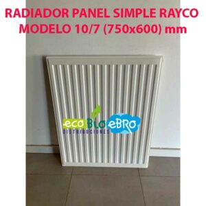 RADIADOR-PANEL-SIMPLE-RAYCO-MODELO-107-(750x600)-mm ecobioebro
