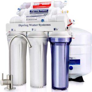 PACK AHORRO 5 FILTROS + MEMBRANA DE 75 GPD (Ósmosis iSpring Water Systems)
