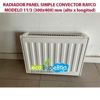 RADIADOR-PANEL-SIMPLE-CONVECTOR-RAYCO-MODELO-113-(300x400)-mm ecobioebro