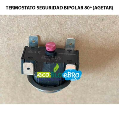 TERMOSTATO SEGURIDAD BIPOLAR 80º (AGETAR)