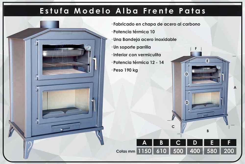 ficha-tecnica-ESTUFA-DE-LEÑA-ALBA-CON-FRENTE-PATAS-(12-14-KW)ecobioebro