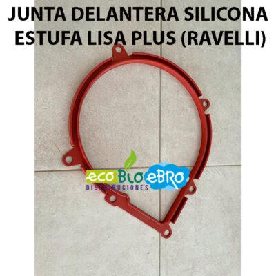 JUNTA-DELANTERA-SILICONA-ESTUFA-LISA-PLUS-(RAVELLI) ecobioebro