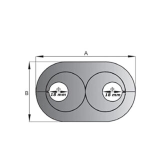 medidas--EMBELLECEDOR-CROMO-DOBLE-OVAL-PARA-TUBOS-(18-mm)-ecobioebro