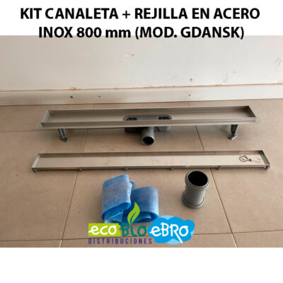 KIT-CANALETA-+-REJILLA-EN-ACERO-INOX-800-mm-(MOD.-GDANSK)-ecobioebro