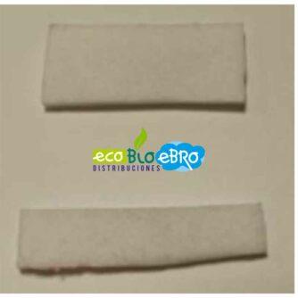 Kit-Repuesto-junta-manta-cerámica-del-ventilador-convección-estufa-VIGO-II-9,5kw-Ecoforest-(2-piezas)-ecobioebro