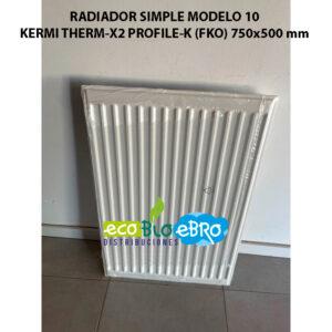RADIADOR-SIMPLE-MODELO-10-KERMI-THERM-X2-PROFILE-K-(FKO)-750x500-mm-ecobioebro