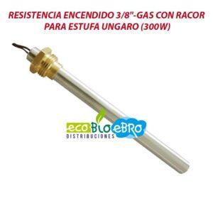 RESISTENCIA-ENCENDIDO-38'-GAS-CON-RACOR-PARA-ESTUFA-UNGARO-(300W)-ecobioebro