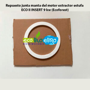 Repuesto-junta-manta-del-motor-extractor-estufa-ECO-II-INSERT-9-kw-(Ecoforest)-ecobioebro