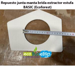 Repuesto-junta-manta-brida-extractor-estufa-BASIC-(Ecoforest)-ecobioebro